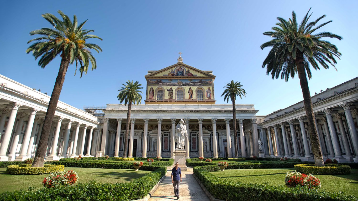 Image result for Saint Paul Outside the Walls: a UNESCO Basilica in Rome
